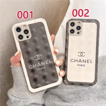 Chanel シャネル アイフォンiphone12/12pro maxケースカバー ハイブランド シンプル ペアお揃い iphone12S/13スマホケース カップル向け ジャケット型 フルーカバー