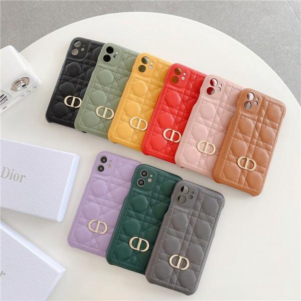 ハイブランド ディオール iphone12/12pro携帯カバー 女子愛用 高級革製 上品 アイフォン12mini/12pro maxスマホケース ジャケット型 シンプル Dior iphone 11/11pro/XRケース