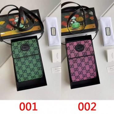 CUCCI グッチ 全機種対応 携帯バッグ ファション 女性向け 小さいバッグブランド アイフォンiphone12ケースバッグ型 安い huawei mate 30 pro Galaxy s21/s21+適用 xpeira1/10II