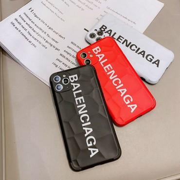 バレンシアガ ペアお揃い アイフォン12pro/12 pro maxケース 男女兼用人気ブランドiphone 11/xs/x/8/7ケースケースins風 かわいいジャケット型 2020 iphone12ケース 高級 人気