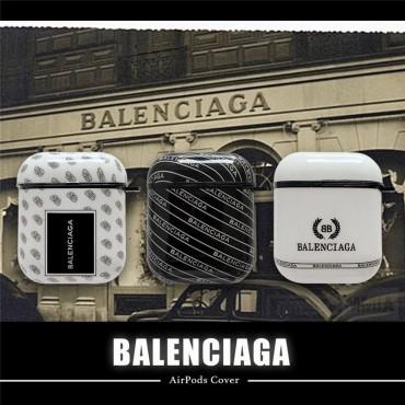 Balenciaga バレンシアガ Air pods1/2/3ケース 耐衝撃 落下防止Airpods pro3ケース メンズ レディースAir pods proケース保護 軽量Air pods 3/2/1ケースブランド