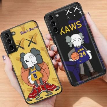 KAWS 個性潮 Galaxy S21/S21ultra note20/s20/s10+ ース ファッションモノグラム iphone12/12pro maxケース ブランド iphone x/8/7 plusケース大人気iphone 12ケース ファッション