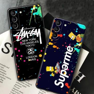 Supreme Stussy ブランド Galaxy s21/s21ultra/note20/s10/s9 plusケース かわいいiphone12/12pro maxケース ブランド LINEで簡単にご注文可シンプル iphone 11/x/8/7スマホケース ジャケットモノグラム