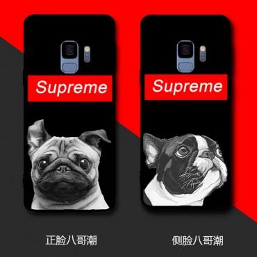 シュプリーム iphone12/12pro/12pro max,galaxy note10/note10plus即納品 iphone xrケース シンプル風 アイフォン xs/xs maxカバー カラフル supreme iphone 8/