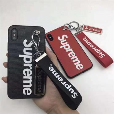 シュプリーム iphone xr/xs maxケース  個性設計 supreme iphone x/xsカバーキーボルダー付け 人気潮流 アイフォン10R/8plusケース カップルお勧め