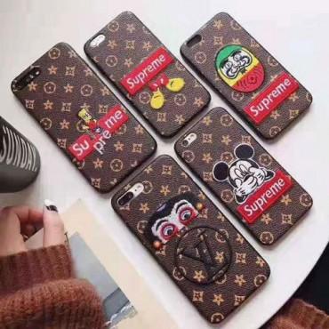 シュプリーム iphone11/11pro/11pro maxケース即納品 可愛い supreme iphone xs maxケース ルイヴィトン アイフォンxs ケース 個性 iphonex/8plusケース 芸能人愛用