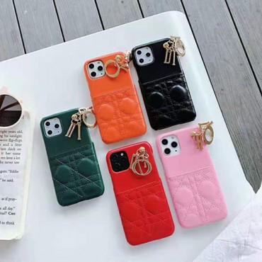 ディオール  iphone xr/xs maxケース 個性 Diorアイフォンxs/xカバー カード入れ iphone 7/8plusケース ペア向け