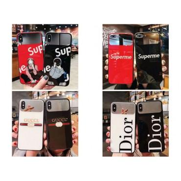 シュプリーム グッチ ins風  かわいいiphone xr/xs maxケースブランドジャケット型 2020 iphone12ケース Dior高級 人気モノグラム iphone 7/8/8plusケース ブランド