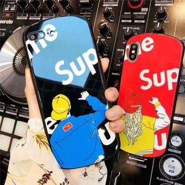 シュプリーム supreme iphone xs/xr/xsMax ケース 人気 iphone x/8/7plus カバー 潮流 個性 iphone テンアールカバー ファッション 男女兼用 激安新品