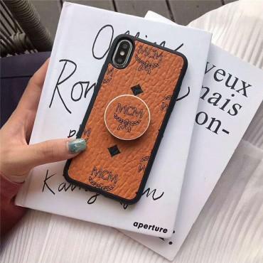 MCM エムシーエム iphone11/11pro/11pro maxケース即納品 iphone xs/xs maxケース ファッション iphone xr/テンケール カバー スタンド機能 落下防止 個性 iphone x/8/7 plu
