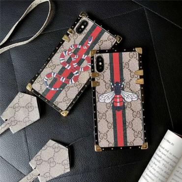 iphone 12/12 pro/12 max/12 pro maxグッチ iphone xs/xs maxケース ストラップ 蛇 iphone xr/xケース おしゃれ ボーダー iphone 8/7 plusケース お洒落 galaxy