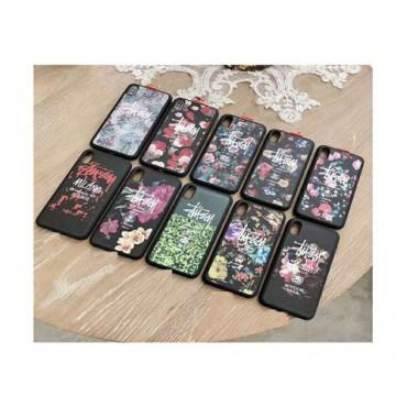 ステューシー iphone xs/xr/xs max ケース 人気  カバー 潮流 個性 Galaxy A30/s10/s10+ テンアールカバー ファッション 男女兼用 激安新品