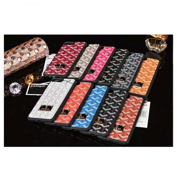 Goyard ゴヤール iphone xrケース galaxy S10plusケース ブランド galaxy S10ケース iphone xs max/x/10/8plusケース ギャラクシーS9/S8plusケース 人気 全面カバー 芸能