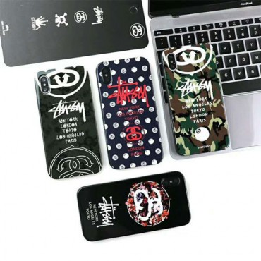 stussy ステューシー iphone xrケース iphone xs/xs maxケース 人気 潮流 ブランド iphone x/10/8/7/6plusケース カッコイイ 純正 激安通販 芸能人愛用