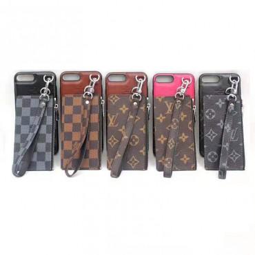 lv iphone xr/xs maxケースルイヴィトン iphone XI/11maxケース ビジネス風 iphone x/8/7 plusケースファッションカードポケット付き