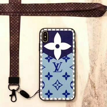 ルイヴィトンiphone 11/11pro max/xiケース 可愛い LV iphone x/xrケース LV新品 花柄綺麗 ルイヴィトンiphone 11proカバー ストラップ付き 混色 8色お揃い ルイヴィトンアイフォンケース 人気
