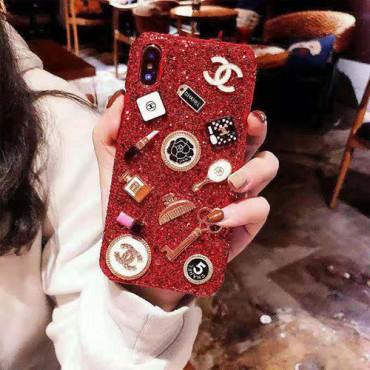 chanel シャネルiphone12/12pro max/se2ケース 小香風  ブランド iphone xr/xs maxケースお洒落キラキラ アイフォンx/8/7 plusケースレディース向け人気