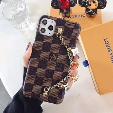 ルイヴィトン iphone11/11pro/11pro maxケースブランドiphone xr/xs maxケースチェーン付き 高級 iphone x/8/7/se2ケースHUAWEI P30/P30 pro/p20ケースファッションおしゃれ