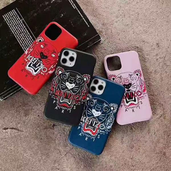 潮流ブランドKenzo iphone11/11pro/11pro maxケースジャケット型iphone xs/xr/xs maxケース個性iphone   x/7/8/plusケースファンション若者向け
