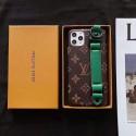 ブランドルイヴィトンiphone11/11pro/11pro maxケースオシャレグッチiphone x/xs/xr/xs maxケースハン  トベルト付きiphone7/8/plusケースファンション潮流 男女兼用