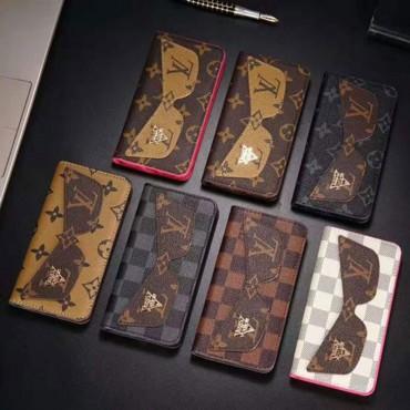 ルイヴィトン iphone11/11pro maxケースブランド lv iphone xr/xs maxケース手帳型 iphone x/8/7 plusケース ファッションビジネス風 お洒落新品
