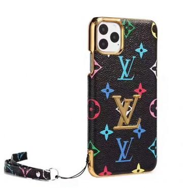 ルイヴィトン iphone11/11pro maxケース人気新品ブランド iphone xr/xs maxケースジャケットお洒落モノグラムダミエ iphone x/10ケースアイホン 8/7 plusケースファッションストラップ付き