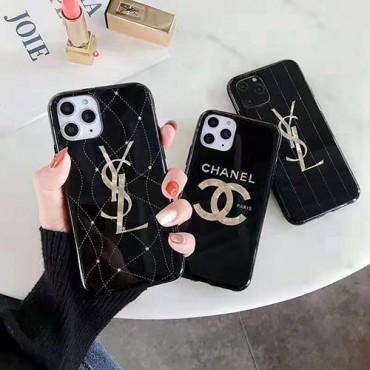 シャネル イブサンローラン iphone11/11pro maxケースブランド 女性向け iphone xr/xs maxケースお洒落アイフォン x/8/7 plusケースファッション高級