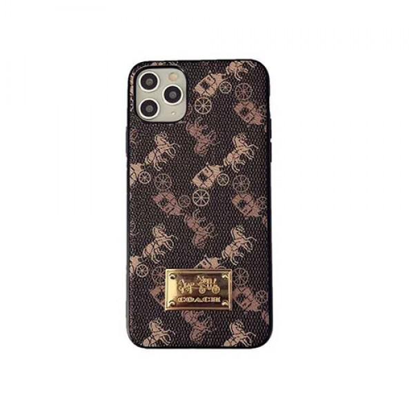 iphone12 mini/12 pro/12 /12 pro maxケースコーチiphonex/8/7 plus/se2ケース大人気ブランド iphone11/11pro maxケース かわいい個性潮 iphone x/xr/xs/xs