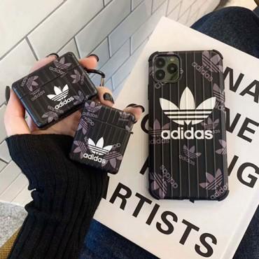 Adidas/アディダス女性向け iphone xr/xs maxケースシンプル ジャケットins風iphone xs/x/8/7 plus/se2ケースケース かわいいモノグラム iphone11/11pro maxケース ブランド