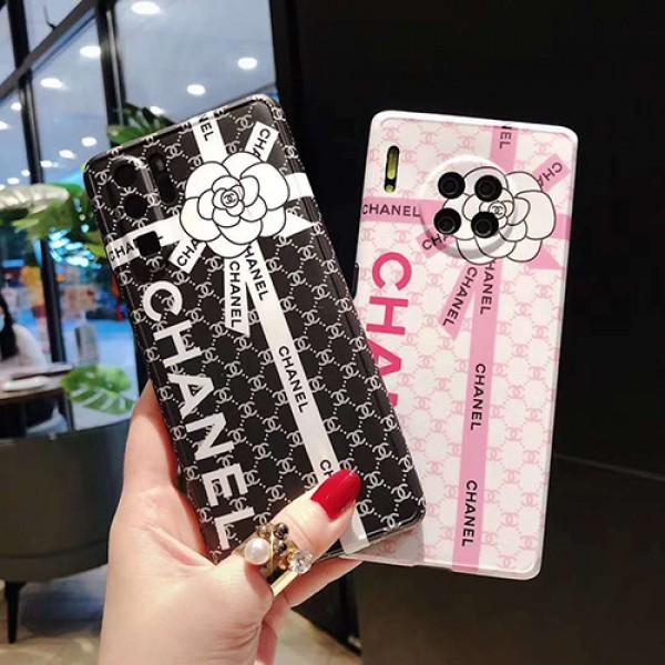 Chanel/シャネルHUAWEI MATE 30/30 PROケース ビジネス ストラップ付きファッション セレブ愛用 iphone12/11pro maxケース 激安iphone 7/8 plus /se2ケースブランドモノグラム