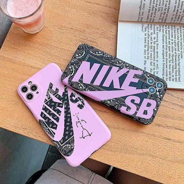 Nike/ナイキiphone11/11pro maxケース ビジネス ストラップ付きアイフォンiphone x/8/7 plus/se2ケース ファッション経典 メンズ個性潮 iphone x/xr/xs/xs maxケース ファッションメ