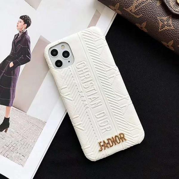 Dior ディオールブランド iphone12/11pro maxケース かわいいペアお揃い アイフォン12/11ケース iphone 8/7 plus/se2ケース個性潮 iphone x/xr/xs/xs maxケース ファッション大人