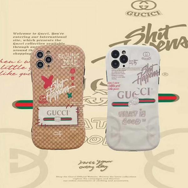 GUCCI/グッチブランド iphone12/11pro maxケース かわいい個性潮 iphone x/xr/xs/xs maxケース ファッションシンプル iphone x/8/7 plus/se2ケース大人気