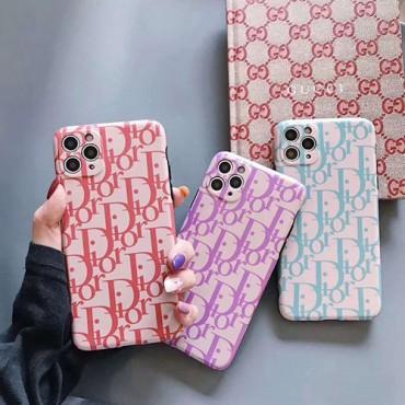 Dior ディオールブランド iphone12/11pro maxケース かわいいシンプル iphone 7/8 plus/se2ケース ジャケットins風 ケース かわいいレディース アイフォンiphone xs/11/8 plusケース