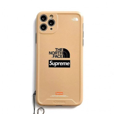 Supreme/シュプリームブランド iphone12/11pro maxケース かわいいビジネス ストラップ付きアイフォンiphone x/8/7 plusケース ファッション経典 メンズレディース アイフォンiphone xs/11/8