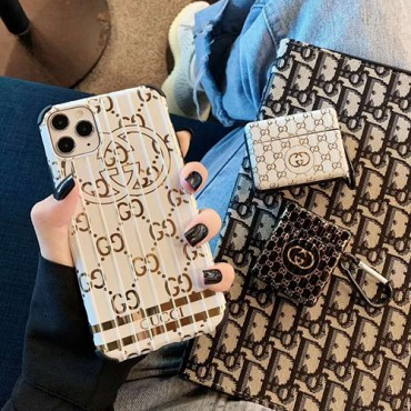 Supreme/シュプリームペアお揃い アイフォン11ケースGucci/グッチ iphone 8/7plus/se2ケース個性潮 iphone x/xr/xs/xs maxケース ファッションジャケット型 2020 iphone12ケース