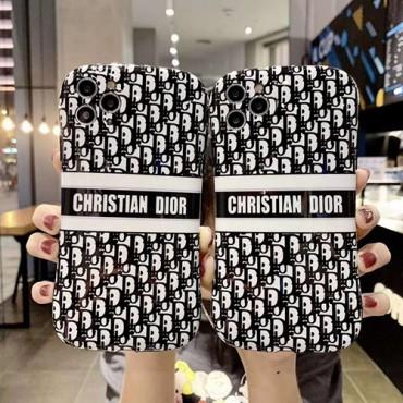 Dior ディオールペアお揃い アイフォン12/11ケース iphone 8/7 plus/se2ケースiphone x/xr/xs/xs maxケース ビジネス ストラップ付きiphone 11/11 pr/11 pro maxスマホケー
