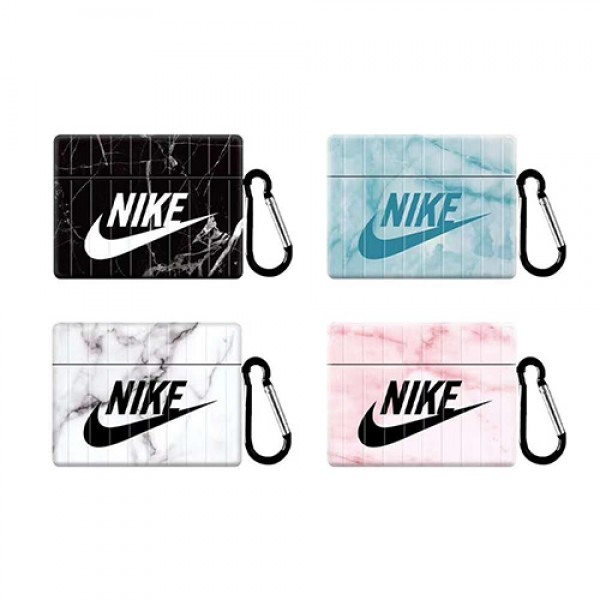 Nike/イキ Air pods proケース保護 Air pods1/2/3ケース 耐衝撃 Air pods 3/2/1ケースブランド Air pods proケース 防塵 落下防止