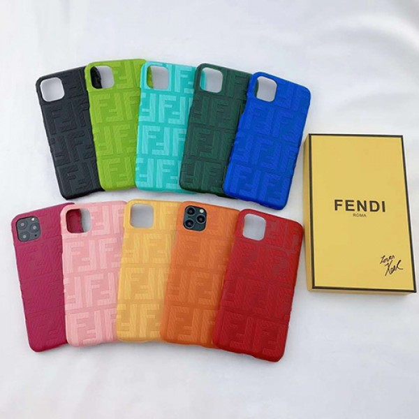Fendi/フェンデイブランド iphone12/11pro maxケース かわいい個性潮 iphone x/xr/xs/xs maxケース ファッションins風  iphone 7/8 plus/se2ケース かわいいブランド
