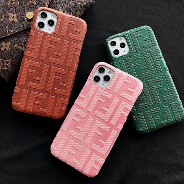 Fendi/フェンデイビジネス ストラップ付きアイフォンiphone x/8/7 plus/se2ケース ファッション経典 メンズ個性潮 iphone x/xr/xs/xs maxケース ファッションモノグラム iphone11/11pro