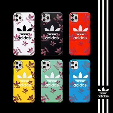 Adidas/アディダス 男女兼用人気ブランドiPhone 12ケースレディース アイフォンiphone xs/11/8 plusケ/se2ース おまけつきiphone xr/xs max/11proケースブランドアイフォン12カバー レ