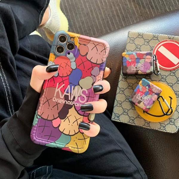Kawsブランド iphone12/11pro maxケース かわいいシンプル huawei mate 30 proケース ジャケットins風 iphone 7/8/se2ケースケース かわいいiphone xr/xs max/11proケ