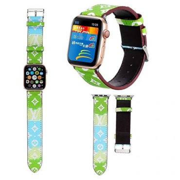 lv ブランドアップルウォッチバンドApple Watch 6/5/4/3ベルト 交換用バンド 女性 人気ビジネスマン用高級Apple Watch 6/5/4/3ブランドバンド本革