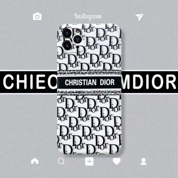 Dior ディオールiphone 12 mini/12 pro/12 max/12 pro maxケース ビジネス ストラップ付きファッション セレブ愛用 iphone11/11pro maxケース 激安シンプルiphone 7/8/se2
