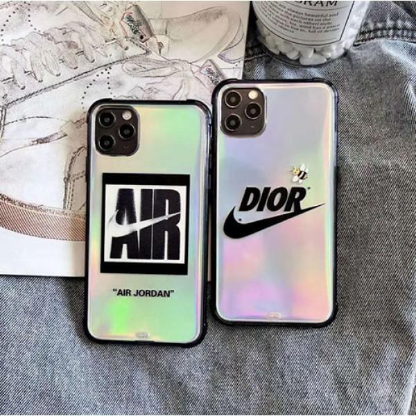 Dior ディオールペアお揃い アイフォン12/11ケース iphone 11/xs/x/8/7ケースNike/ナイキ個性潮 iphone x/xr/xs/xs maxケース ファッションiphone 11/x/8/7スマホケース ブランド