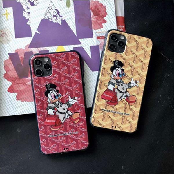 Goyard/ゴヤールブランド iphone12/12pro maxケース かわいいins風iphone 7/8/se2ケースケース かわいいメンズ iphone11/11pro maxケース 安いジャケット型 2020 iphone12ケ