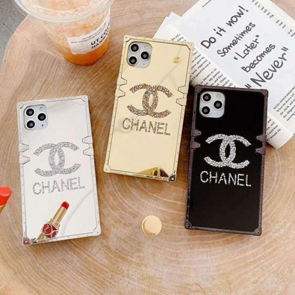 Chanel/シャネルペアお揃い アイフォン11ケース iphone 12 mini/12 pro/12 pro max/12 maxケースiphone 11/x/8/7スマホケース ブランド LINEで簡単にご注文可シンプル iphone