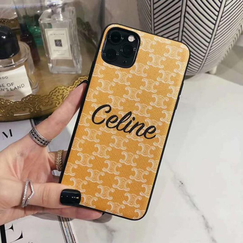 celine iphone 12 mini/12 pro/12 max/12 pro maxケース ビジネス ストラップ付きiphone 11/x/8/7スマホケース ブランド LINEで簡単にご注文可レディース アイフォンiphone x