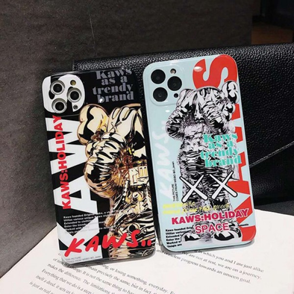 Kawsシンプルiphone 12 mini/12 pro/12 max/12 pro maxケース ジャケットins風 iphone x/xr/xs/xs maxケースケース かわいいiphone xr/xs max/11proケースブラ