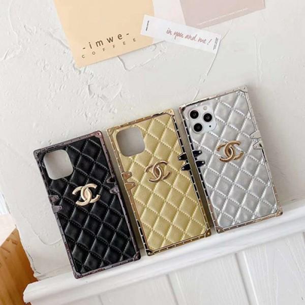 Chanel/シャネル  ブランド iphone12 mini/12 pro max/12 pro/12 maxケース かわいいiphone 7/8/se2ケース ビジネス ストラップ付きシンプルiphone x/xr/xs/xs maxケ